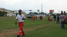 Casco EOM Rojo, Lámpara para casco LED XPP5452G Nightstick, Guantes Impact R-14 Ringers Gloves, brindando protección a los Profesionales de Protección Civil Nuevo León. #SoyEMS EMS México | Equipando a los Profesionales