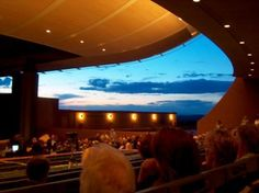 Santa Fe Opera House - even got to try on the costumes :)