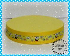 Sponge Bob Stand - Sponge Bob Birthday Party - Lollipops or Cakepops Stand - Sponge Bob Party Decoration - Sponge Bob Inspired