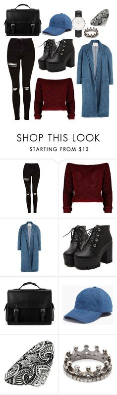 """""""Genius"""" by lisalue00 on Polyvore featuring Mode, Topshop, Sandy Liang, Aspinal of London, Madewell, Thomas Sabo, Loree Rodkin und Daniel Wellington"""