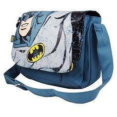 Batman Classic Retro Style Messenger Shoulder Bag