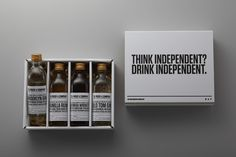 Proof & Company is a curator and seller of small batch, independent and mostly award-winning spirits. Artisinal brands are available to a select few due to small batch process and restricted availability. Customers are able to mix and match according to personal preference.