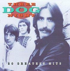 Three Dog Night is an American rock band. They formed in 1968 with a line-up consisting of Danny Hutton, Cory Wells, and Chuck Negron. The three lead singers. 1970s Music, Old Music, Music Music, Reggae Music, Blues Music, Music Files, Music Albums, Live Music, Greatest Songs