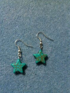 Turquoise star earrings for sale on poshmark  look for Heidi's closet! homemade jewelry shop poshmark  poshmark.com/closet/heidisjewelry