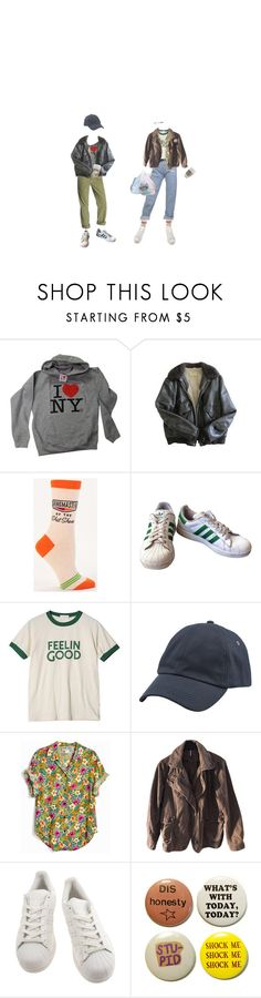 """""""i think you're my best friend"""" by sleepingpowder ❤ liked on Polyvore featuring J Brand, Schott NYC, adidas, StyleNanda, Woolrich, Free People, vintage, men's fashion, menswear and indie"""