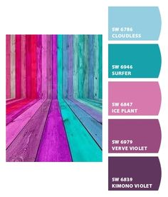 Instantly turn any picture into a palette with ColorSnap, created for you by Sherwin-Williams. Purple Color Palettes, Purple Palette, Paint Color Palettes, Colour Pallette, Teal Colors, Paint Colors, Living Room Colors, Living Rooms, Room Color Schemes