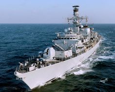 Royal Navy Type 23 Frigate HMS Argyll by Defence Images, via Flickr