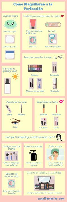 Aprende a maquillarte de la manera más sencilla con estas claves y consejos…
