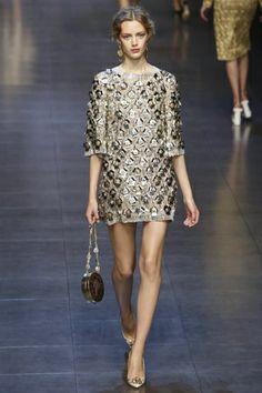 Dolce & Gabbana Ready To Wear Spring Summer 2014 Milan - NOWFASHION
