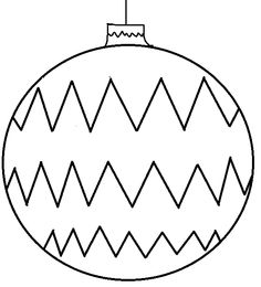 Small Christmas Ornament Coloring Pages Small Christmas Ornament