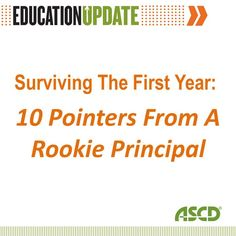 Are you a new principal? Check out these survival tips from a principal that was in your shoes.