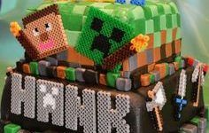Bolos decorados Minecraft