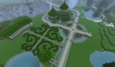 ] Paradise Palace (world save!) - Screenshots - Show Your Creation - Minecraft Forum Palais Minecraft, Château Minecraft, Minecraft Epic Builds, Construction Minecraft, Minecraft Challenges, Minecraft Templates, Minecraft Garden, Minecraft Tutorial, Minecraft Blueprints