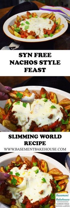 Syn Free - Nachos Style Feast - Slimming World - Recipe astuce recette minceur girl world world recipes world snacks Slimming World Dinners, Slimming World Recipes Syn Free, Slimming World Syns, Slimming Eats, Slimming World Lunch Ideas, Slimming World Fakeaway, Slimming World Breakfast, Slimming World Chilli Beef, Slimming World Minced Beef Recipes