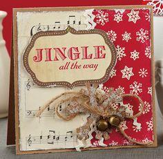 Jingle All the Way Card by @Rae Barthel