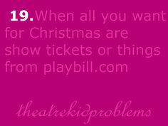 Theatre Kid Problems: Photo