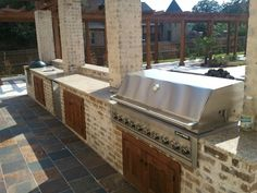 Outdoor Kitchen #texassummer #remodel #jarrellsignature JarrellSignature.com