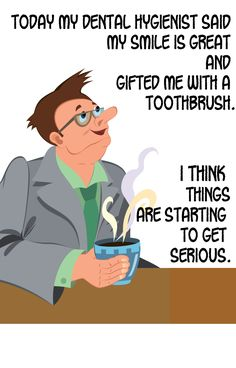 Of course oral health is serious!  #DentistWestPalmBeach #OralHealth