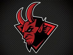 Devils logo idea by Andy Hall