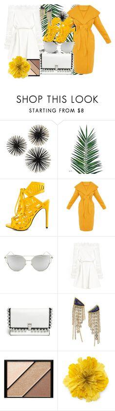 """Untitled #849"" by brandi-gurrola ❤ liked on Polyvore featuring Nika, Privileged, Chicnova Fashion, Proenza Schouler, Lizzie Fortunato, Elizabeth Arden and Gucci"