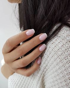 amazing nail art ideas that will inspire you beautiful nails nail art designs for spring 2020 arts winter 2020 cuticle remover ingrown fingernail black nails French Acrylic Nails, Pink Acrylic Nails, Casual Nails, Stylish Nails, Oval Nails, Toe Nails, Coffin Nails, Blush Pink Nails, White Nails