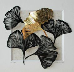 Vintage Industrial Furniture For Your Home Metal Artwork, Metal Wall Art, Doodle Drawing, Metal Art Projects, Diy Projects, Creation Deco, Painted Leaves, Kintsugi, Leaf Art