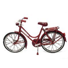 아이디어펀 1889 복고 자전거 미니어쳐 - 레드