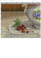 ru / Фото - flores e frutas - Cross Stitch Designs, Cross Stitch Patterns, Cross Stitch Kitchen, Flowers For You, Stitch 2, Cross Stitch Flowers, Diy Christmas Ornaments, New Pins, Projects To Try