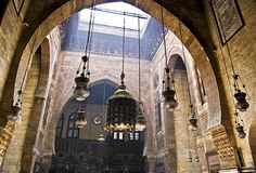Spiritual ♦ Al Ghoury Mosque, Old Cairo, Egypt | by Marwa Morgan