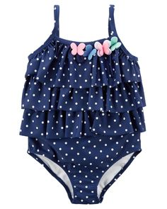Children and Young Toddler Swimsuits, Best Swimsuits, Baby Girl Swimsuit, Ruffle Swimsuit, Little Girl Outfits, Kids Outfits, Baby Outfits, Fin Fun Mermaid Tails, Baby Dress Design