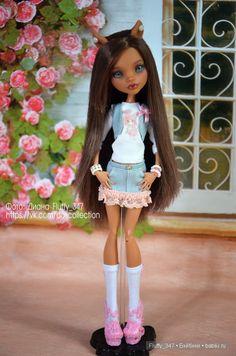 OOAK Monster High - Мои куколки от Людмилы Гамовой (2 часть) / Куклы My Scene, Monster High, Монстер Хай от Mattel / Бэйбики. Куклы фото. Одежда для кукол