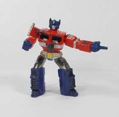 Transformers - Optimus Prime - Mini Toy Action Figure - Hasbro 2006