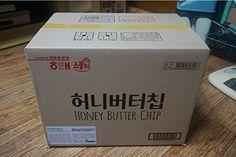 1箱 ハニーバターチップ新ヘテ韓国ポテトスナックチップスクラッカー 60グラム×16個 Honey Butter Chip [海外直発送] ヘテ http://www.amazon.co.jp/dp/B00T40NA8G/ref=cm_sw_r_pi_dp_w40tvb0GHZ0B2