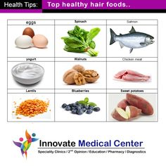 Top Healthy Hair Foods