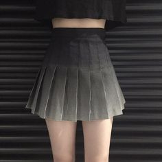 Gradient plaid high waist pleated skirt sold by Harajuku fashion. Shop more products from Harajuku fashion on Storenvy, the home of independent small businesses all over the world. Pleated School Skirt, Plaid Pleated Mini Skirt, Women's Mini Skirts, A Line Skirts, Short Skirts, High Waisted Skirt, Waist Skirt, Pleated Skirts, Women's Skirts