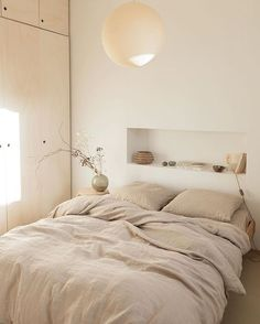Creating Interior Niches with Recessed Walls Creating Interior Niches with Recessed Walls T.C: Creating Interior Niches with Recessed Walls Home Bedroom, Bedroom Furniture, Calm Bedroom, Bedroom Ideas, Bedroom Inspiration, Master Bedrooms, Calming Bedroom Colors, Simple Bedrooms, Small Bedroom Interior
