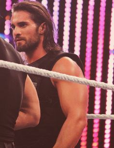 Sorry but this is a really good picture of Seth. Kind of obsessed with Seth. Wwe Seth Rollins, Seth Freakin Rollins, Vampire Diaries, Divas, The Shield Wwe, Burn It Down, Solo Pics, Wwe World, Wrestling Superstars