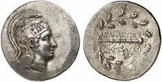 AR Tetradrachm. Greek Coin, Ionia, Herakleia ad Latmon. Circa 150-142 BC. 17,24g. SNG von Aulock 1978 var. Nearly EF. Starting price 2011: 1.320 USD. Unsold.