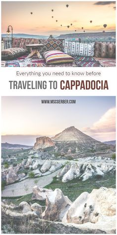 Cappadocia is one of the most beautiful and stunning places I've ever been to and should be on every traveler's bucket list, especially when traveling to Turkey. With its incredible nature and history, it is one of the best destinations to visit.  In this travel guide, I will tell you everything you need to know before your journey to Kapadokya.