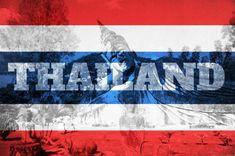 Flag of Thailand - Thailand Tourism Thailand Flag, Thailand Art, Thailand Photos, Krabi Thailand, Visit Thailand, Thailand Outfit, Bangkok Thailand, Thailand Tourism, Thailand Travel