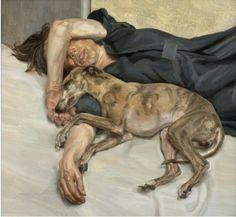"Lucian Freud, ""Double Portrait"", 1985-86, Private Collection"