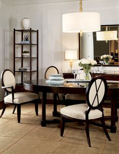 Baker Furniture : Oval X-Back Dining Side Chair - 3440 : Chairs : Barbara Barry : Browse Products Bedroom Furniture Design, Dining Room Furniture, Home Furniture, Dining Chairs, Dining Table, Dining Rooms, Oval Table, Room Chairs, Dining Area