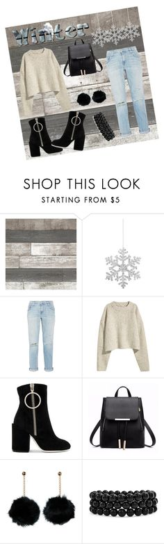 """Untitled #227"" by olaruanamaria ❤ liked on Polyvore featuring Shishi, Current/Elliott, Off-White and Bling Jewelry"