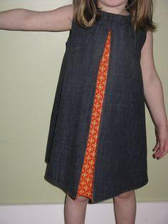 Pleat Dress PDF pattern Sizes by dandyjane on Etsy Girls Dresses Sewing, Little Girl Dresses, Sewing Clothes, Diy Clothes, Little Girl Fashion, Toddler Fashion, Kids Fashion, Sewing For Kids, Baby Sewing