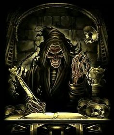 Grim Reaper/Angel of Death Grim Reaper Art, Don't Fear The Reaper, Grim Reaper Quotes, Looks Dark, Biker Quotes, Motorcycle Quotes, Arte Obscura, Skull Wallpaper, Skull Art