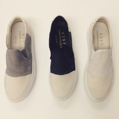 Crushing on these dip-dyed spring kicks from #commonprojects