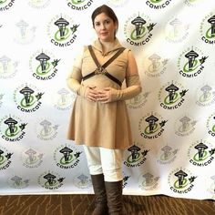 Crafters In Disguise: Maternity Cosplay - Making a Padme Costume in One Week