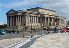 Chpt 4: St. George's Hall, c. 1840–1854; Liverpool, England, by Harvey Lonsdale Elmes. British Greek Revival.