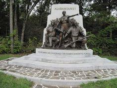 Alabama Monument at Gettysburg