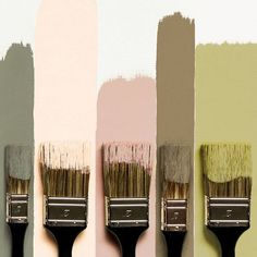 Army Green, Rose, Golden & Plum :This color combo all stems from the army green. This color can obviously stand alone. Palettes Color, Colour Pallete, Color Combos, Earthy Color Palette, Green Palette, Green Rose, Pink And Green, Pink Brown, Flamingo Color